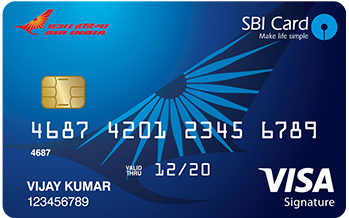 State Bank of India Air India Sbi Signature Card Credit Card Apply Online