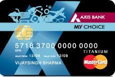 Axis Bank My Choice Credit Card