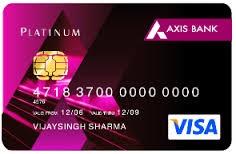 Axis Bank Platinum Credit Card