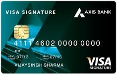 Axis Bank Signature Credit Card With Lifestyle Benefits