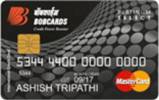 Bank of Baroda Platinum Credit Card Apply Online