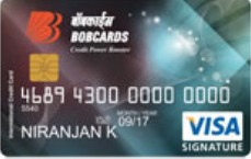 Bank Of Baroda Signature Visa Credit Card
