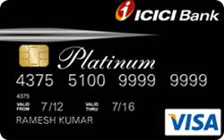 Icici Bank Platinum Chip Credit Card