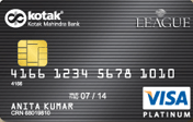 Kotak Mahindra Bank League Platinum Card