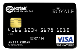 Kotak Mahindra Bank Royale Signature Credit Card