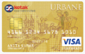 Kotak Mahindra Bank Urbane Gold Credit Card