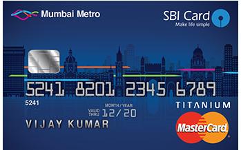 State Bank of India Mumbai Metro Sbi Card Credit Card Apply Online