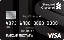 Standard Chartered Bank Standard Chartered Platinum Rewards Credit Card Apply Online