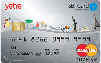 State Bank of India Yatra Sbi Card Credit Card Apply Online