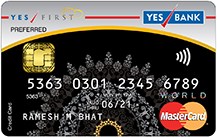 Yes Bank Yes First Preferred Credit Card Apply Online
