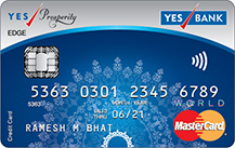 Yes Bank Yes Prosperity Edge Credit Card Apply Online