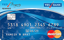 Yes Bank Yes Prosperity Rewards Credit Card Apply Online